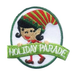 Holiday Parade Girl Scout Patch