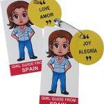 Spain Girl Scout SWAP Kit