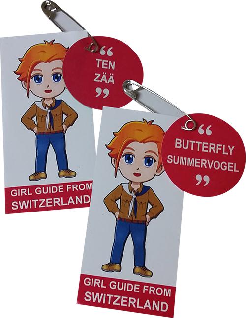Switerland Girl Scout SWAP