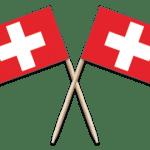 Switzerland Toothpick Flags