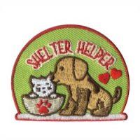 Shelter Helper Girl Scout Fun Patch