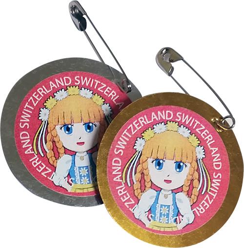 Switzerland Girl Scout SWAPs