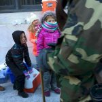 Girl Scouts Feeding the Homeless