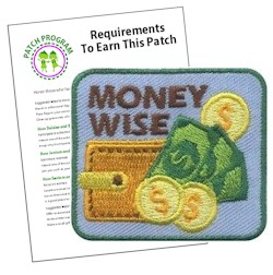 Money Wise Girl Scout Patch Program®