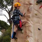 Brownie Girl Scout Rock Climbing