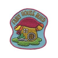 Girl Scouts Fairy House Build Patch