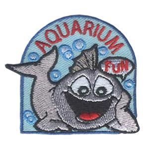 Girl Scout Aquarium Fun Patch