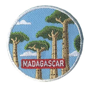 Girl Scout Madagascar Landmark Patch