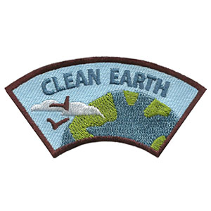 """The Clean Earth Advocate Service Patch is from the Youth Squad Environmental Patch Program®. MakingFriends®.com partnered with Youth Squad to bring you a rewarding community service program with step-by-step instructions for every age level to make a meaningful impact in their community. This is one of our """"Advocate"""" level patches. The requirements for our Advocate level patch program® are geared toward getting support for a specific project of your choosing. via @gsleader411"""