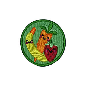 The Healthy Food Helper Service Patch. Your little ones will enjoy earning this healthy food patch and be just like the big kids. The Helping Hands level is specifically created for 3 and 4 year old girls and boys or anyone with the abilities of a preschooler. Perfect for tag alongs at your troop meeting. Part of the Outreach Patch program from Youth Squadand MakingFriends®.com. via @gsleader411