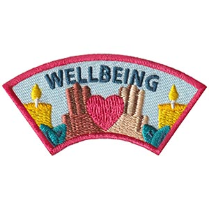 Wellbeing Advocate Service Patch from Youth Squad