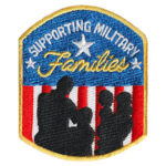 Supporting Military Families Patch