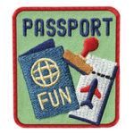 International Thinking Day Passport Fun Patch