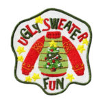Ugly Sweater Fun Patch