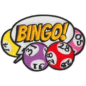 Bingo Fun Patch Balloon
