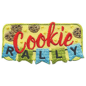 Girl Scout Cookie Rally Patch