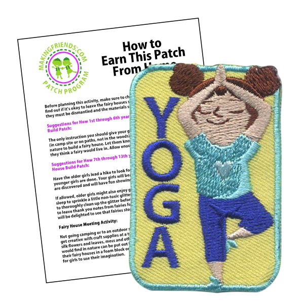 Girl Scout Yoga Patch Program