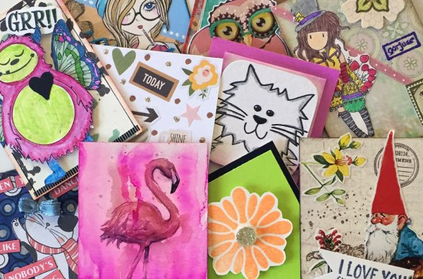 Girl Scout Artist Trading Cards
