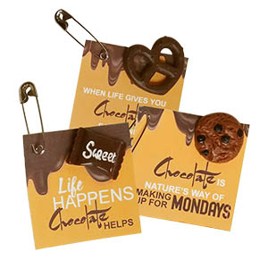 Chocolate Girl Scout SWAPs