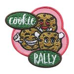 Scout Cookie Rally Fun Patch