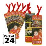 China Thinking Day Bookmarks