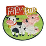 Girl Scout Farm Fun Animals Patch