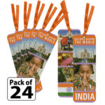 India Thinking Day Bookmarks