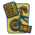 Girl Scout Bike Ride Fun Patch