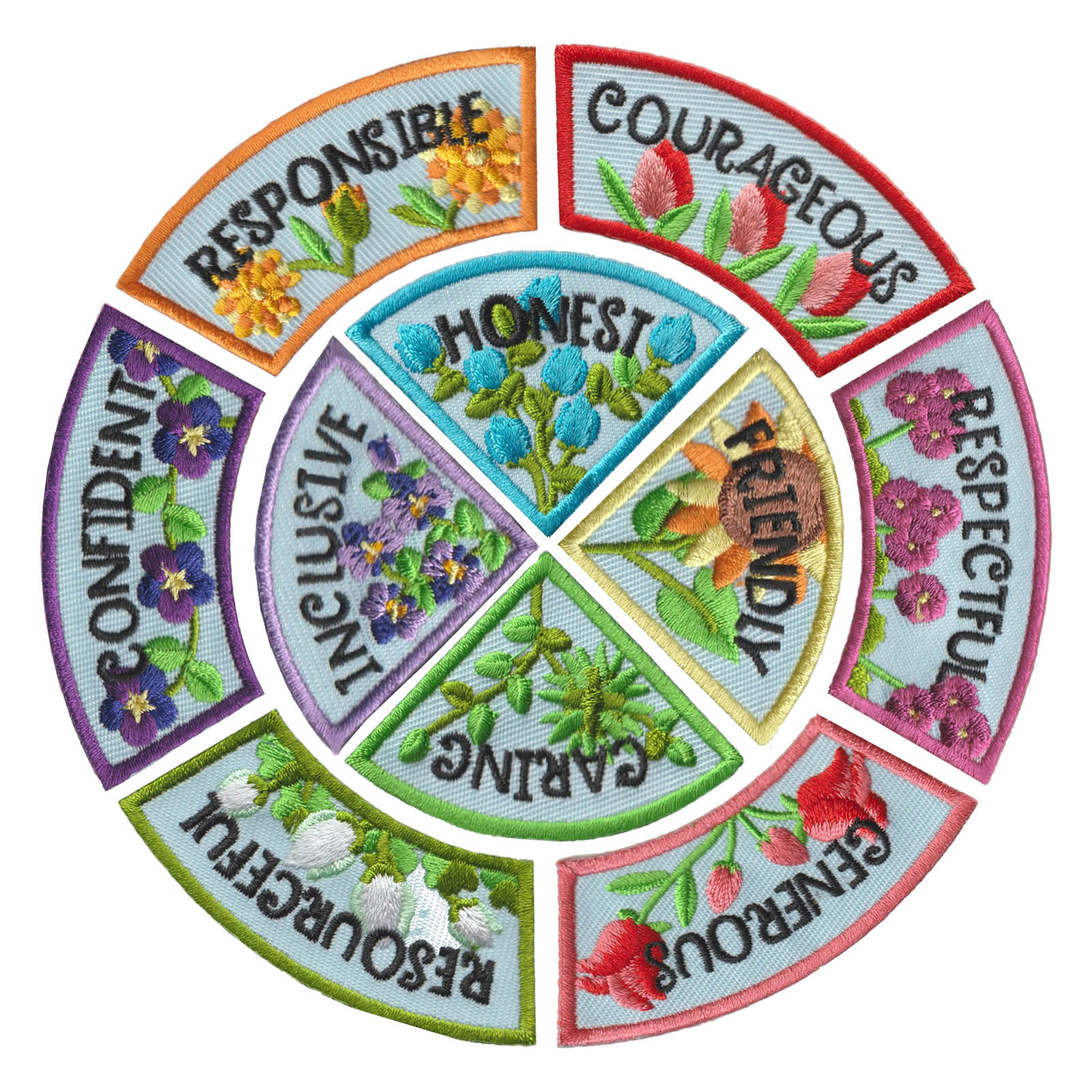 Girl Scout Character Building Patch Program®