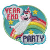 Girl Scout Year End Party Fun Patch