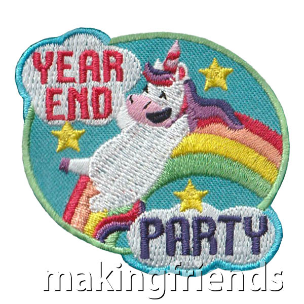 Girl Scout Year End Party Fun Patch via @gsleader411