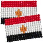 Diamond Painting Egypt flag pin Girl Scout SWAP