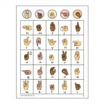 Girl Scout Sign Language Bingo Cards
