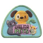 Girl Scout Care for Pets Fun Patch