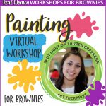 Girl Scout Brownie Painting Workshop