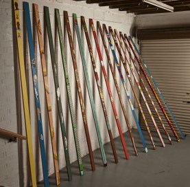 Lubaina Himid Gwangju installation at Oxheys Mill Studios in Preston. Photo: Denise Swanson