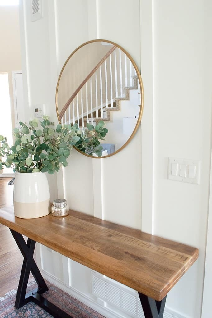 How To Do A Diy Vertical Paneled Accent Wall Making Home Pretty