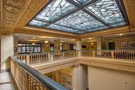 Rosslyn Hotel skylight
