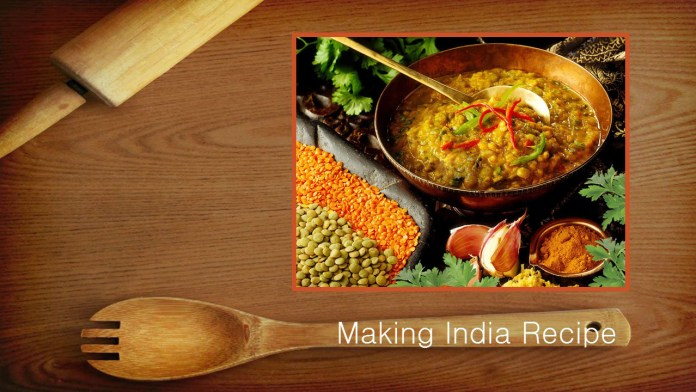 recipe making india panchmel daal kevti daal