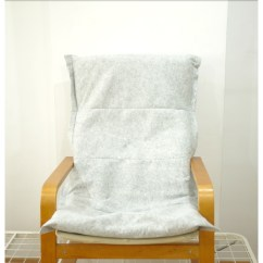 Armchair Cover Diy Roman Chair Back Extension Alternative Making It Blissful Ikea Pello Cover1
