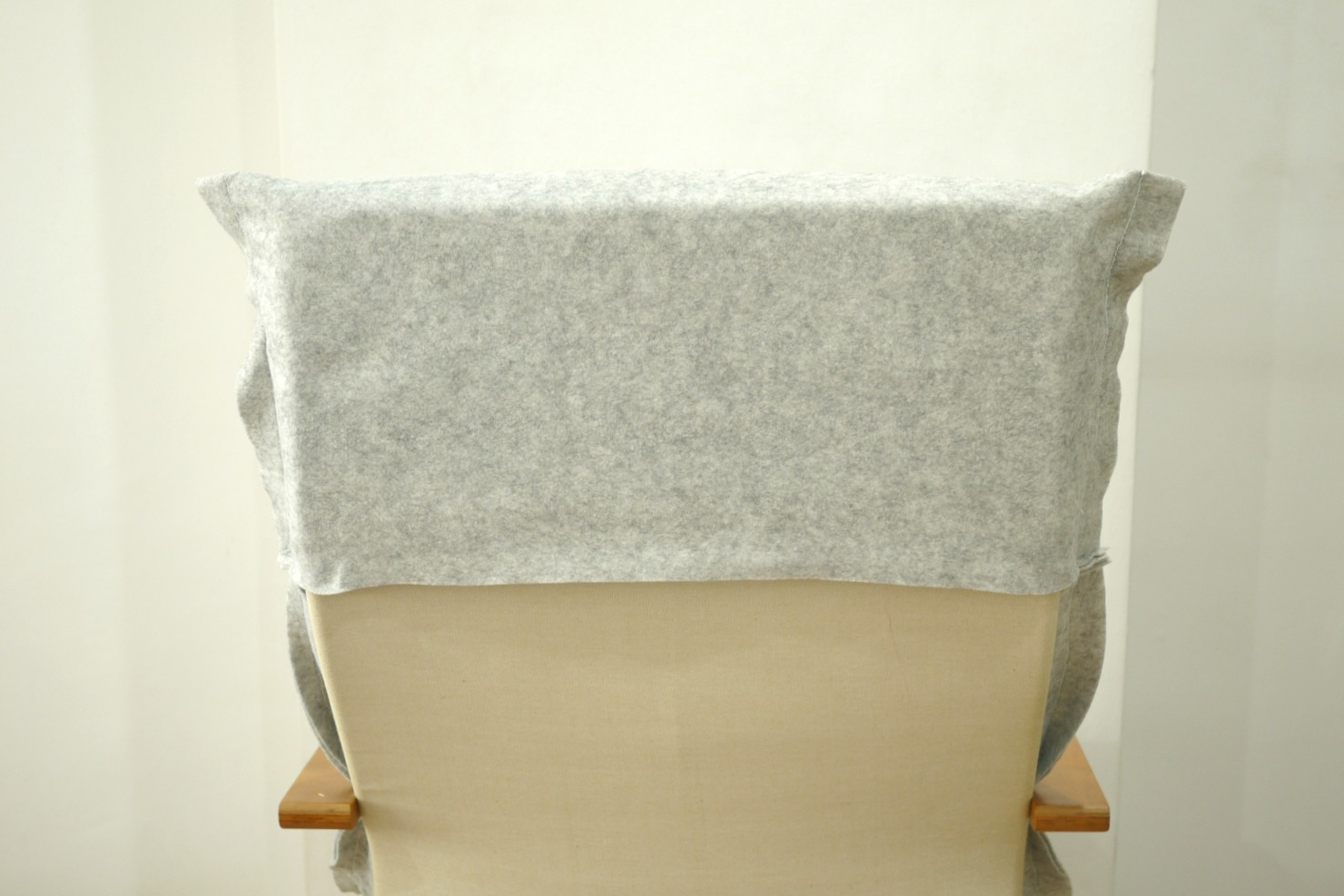 MAKE DIY Ikea PelloPoang Chair Felt Cover  MAKING IT