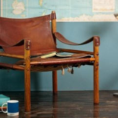 Leather Sling Chairs Solid Wood Dining Table And So Long, Green - Making It Lovely