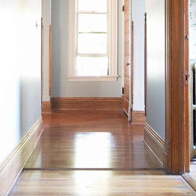 Choosing Our Hardwood Flooring for the Hallway