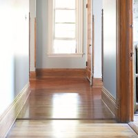 Choosing Our Hardwood Flooring for the Hallway