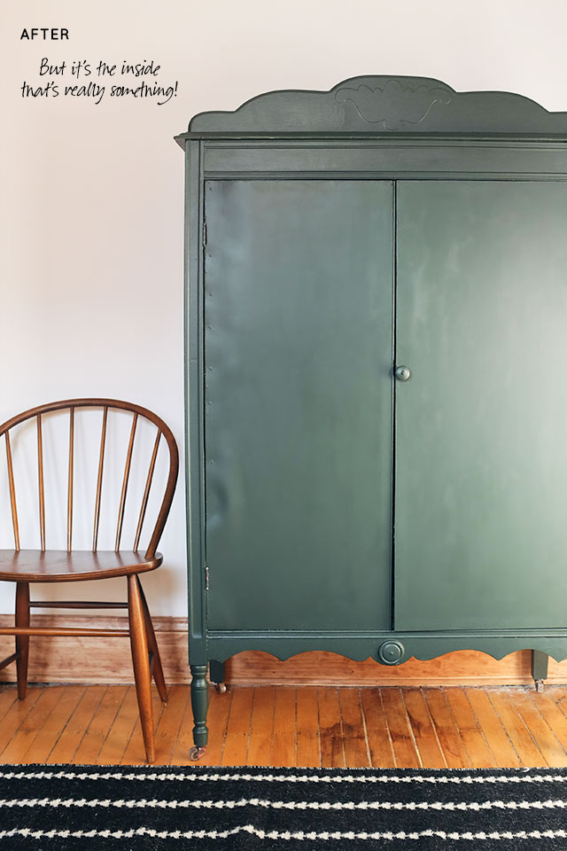diy painted windsor chairs lobster high chair striped armoire surprise making it lovely after