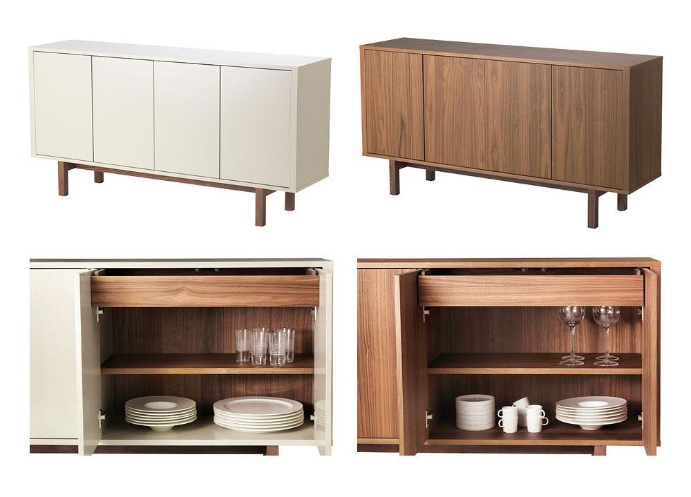 Ikea Küche Sideboard   Hemnes Sideboard - Black-brown - Ikea