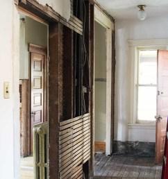 second floor hallway being remodeled [ 780 x 1170 Pixel ]