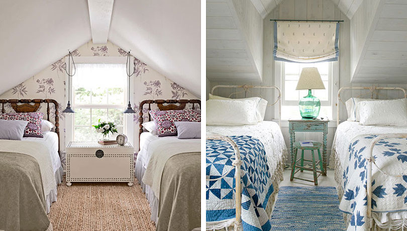 The Sweetest Attic Bedroom Layout  Making it Lovely