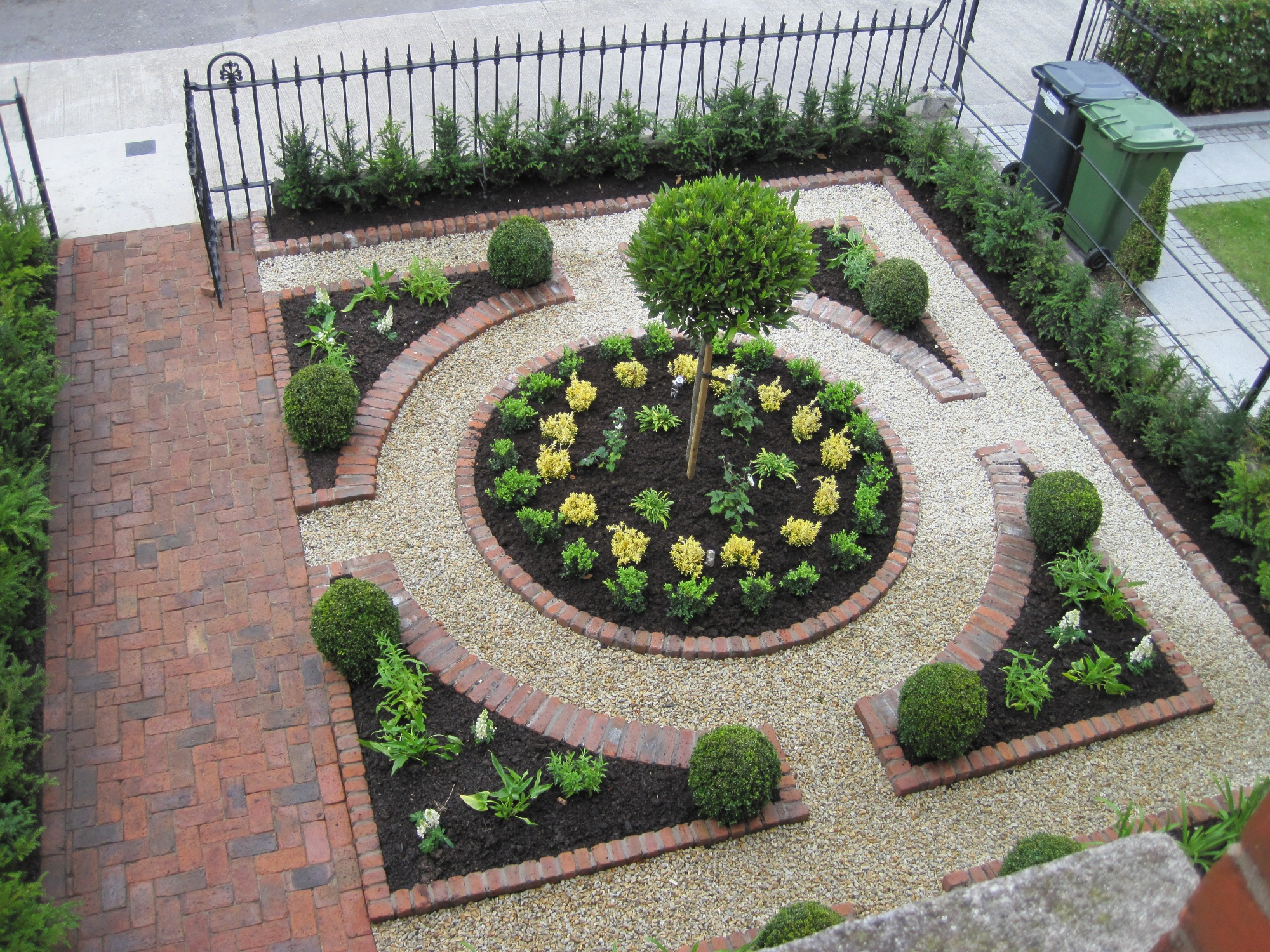 A Small Garden Victory a Formal Plan  Making it Lovely