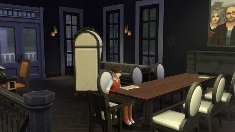 Dining Room — Sims 4 Pink Victorian House, Making it Lovely